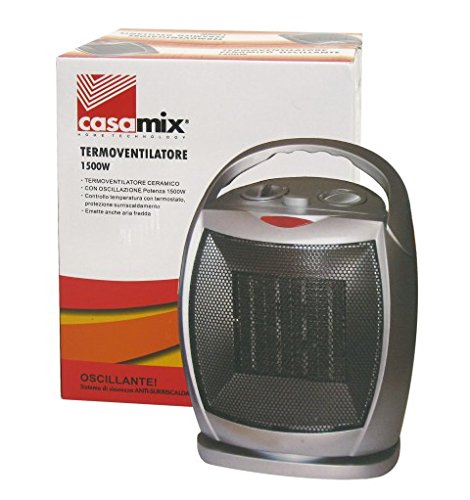 TERMOVERTILATORE CERAMICO OSCILLANTE CASAMIX