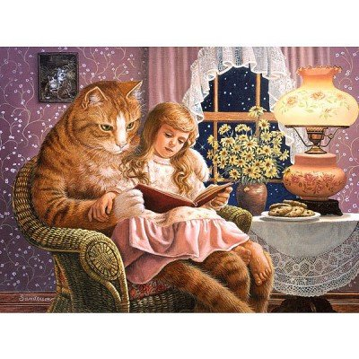 Castorland - Home is Where The Cat, 1500 pz. Puzzle, Colore: Assortiti, 15150960