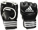 adidas Traditional Grappling Glove Boxhandschuhe, Schwarz/Weiß, L