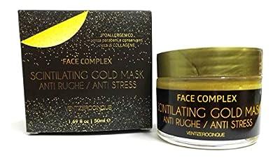 Gold Mask scintilating Face Cream 50ml Anti-Wrinkle Face Complex ventizerocinque and Stress Relief from VentiZeroCinque