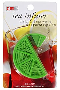KM Green Herbal Tea Bag Infuser Strainer, Color: Green