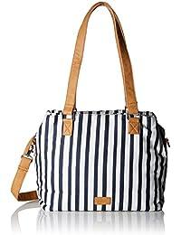 39.804.94 1/374, Womens Bag, Blue (Blue Stripes), 8x33x27 cm (B x H T) s.Oliver