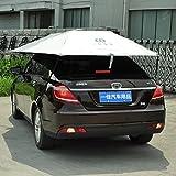 CAR SHUN Sombrilla del Coche del Coche del Coche Paraguas del Coche Protector Solar Cubierta Un