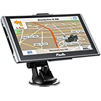 SAT NAV Car GPS Navigations with 2 chargers 7 Inches 8GB Capacitive Touch screen 256 MB DDR 800x480 Include UK and Europe Latest Maps