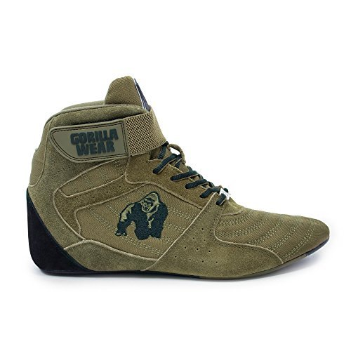 Gorilla Wear Scarpe Fitness Uomo Perry High Tops Bodybuilding Shoes Sportive da Palestra