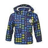 LEGO Wear Baby - Jungen Regenbekleidung LEGO duplo Regenjacke JOSH 207 gepunktet, Gr. 98, Blau (588 MIDNIGHT BLUE)