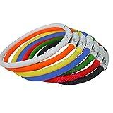SHINA Hunde Leuchthalsband LED Hundehalsband Leuchtband Haustier Halsband