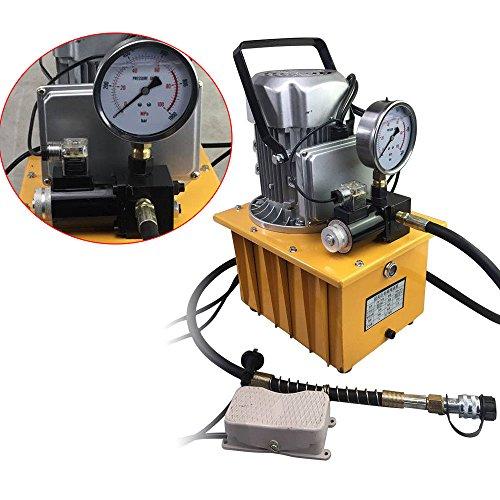 SHIOUCY 700 Bar Elektrohydraulik pumpe Mit Pedal Solenoid Valve Acting Hydraulikaggregat Elektrische Hydraulikpumpe Hydraulikmotor Pumpe