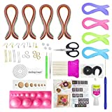 #3: Unobite 25 Piece Quilling Jewellery Making kit with 800 Papers
