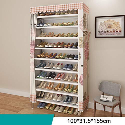 SHOESBENS Zapatero Tela Armario   Bricolaje Dormitorio Hall De Entrada Almacenamiento De Zapatos Tipo...