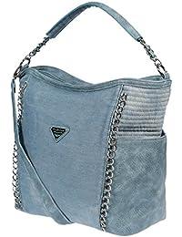 07cd2fd37c224 Christian Wipperman XL Damen Schultertasche Handtasche Umhängetasche