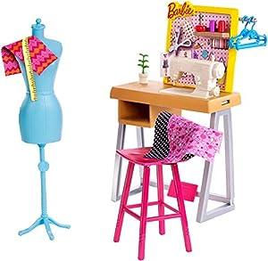 Barbie Quiero Ser Diseñadora, accesorios de muñeca (Mattel FXG39)