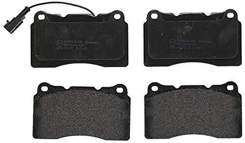 Preisvergleich Produktbild Brembo P23115 Vordere Bremsbeläge, Anzahl 4