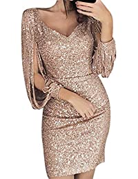 Amazon.it  18 Anni Festa Vestito - Nero   Vestiti   Donna  Abbigliamento 47d4928e687