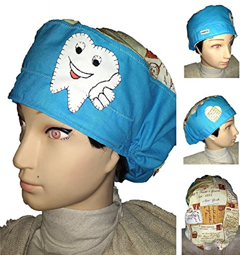 hat-medical-for-dentits-for-long-hair-for-all-the-sizes-forehead-area-with-towel-to-prevent-drop-of-