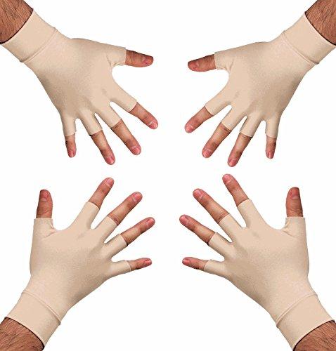 Medipaq Anti Arthritis Gesundheits- Therapiehandschuhe – 2x Paar- erhältlich in mittel oder groß