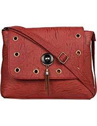 148707eac9 TYPIFY® Leatherette PU Sling bag for Women and Girls College Office Bag