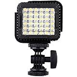 Andoer CN-LUX360LED Lumière vidéo, Lampe vidéo pour la caméra DV caméscope Canon Nikon