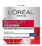 L' Oréal Paris Revitalift Crema Cica reparierender Anti Age Balsamo Notte, 50ML