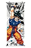CoolChange Grand Poster en Rouleau /Kakemono de Dragon Ball Fait de Tissu, 100x40cm, Motiv: Dragon Ball Z