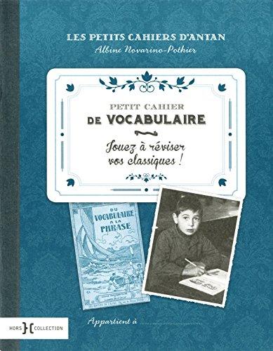 Petit cahier de vocabulaire