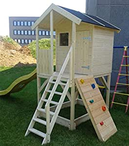 Casetta in legno per bambini alida 382 x 257 cm for Casetta legno bambini fai da te