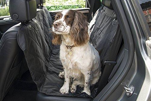 Speedwellstar Heavy Duty nero Pet coprisedili auto 137x 147cm cane impermeabile amaca tappetini posteriori trapuntato coperta stivale
