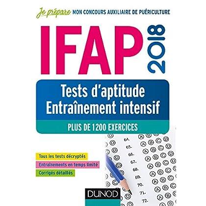 IFAP 2018 - Tests d'aptitude - Entraînement intensif - Plus de 1200 exercices