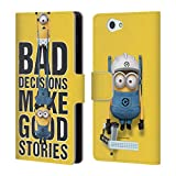 Official Despicable Me Bad Decisions Funny Minions Leather