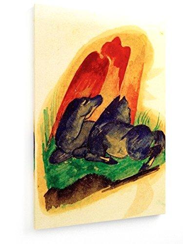 franz-marc-dos-caballos-azules-en-frente-de-una-roca-roja-80x120-cm-weewado-impresiones-sobre-lienzo