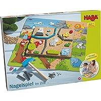 Preisvergleich für Haba 7195 Nagelspiel Im Zoo, Kleinkindspielzeug