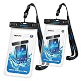 Waterproof Phone Case 2 Packs,Mpow IPX8 Waterproof Pouch...