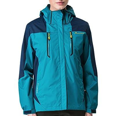 BaiTe Frauen Camouflage-Hose plus Größe Softshell Trousers Lange Wandern Sport Outdoor Hosen Wasserdicht Winddicht Atmungs