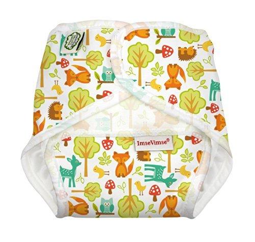 ImseVimse Babywindel All In One, woodland, Größe XS 2.5 bis 5kg