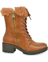 Cucu Fashion - botas estilo motero mujer