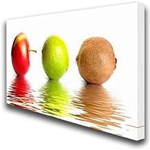 Póster artístico de frutas lienzo gran cocina 070