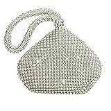 Flada Girl ' s y señoras bolso de embrague de noche de diamantes de imitación bolso de embrague...