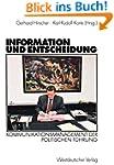 Information und Entscheidung: Kommuni...