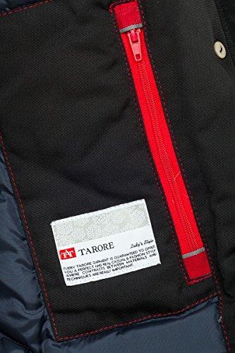 Grimada 6M166M Damen Daunenmantel Arctic Parka TARORE mit Echtfellkapuze (34, schwarz) - 5