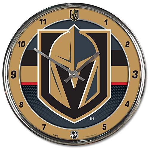 Wincraft Vegas Golden Knights Chrome NHL Wanduhr