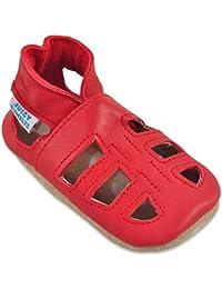 6b85269806f Sandales Bébé Cuir Souple - Chaussons Cuir Bébé - Chaussures Bebe Fille -  Chaussures Enfant Garçon