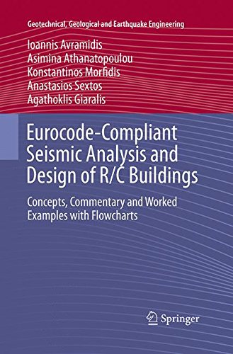 Eurocode-Compliant Seismic Analysis and Design of R/C Buildings: Concepts, Commentary and Worked Examples with Flowcharts (Geotechnical, Geological and Earthquake Engineering)