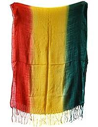 echarpe rasta cheche foulard tour de cou afrique reggae jamaique 162x58cm 7f0921271e4
