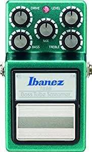 Ibanez TS9B Tube Screamer Bass Overdrive Boîtier d'effet distorsion des basses (Vert)