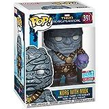 Funko 30763 Marvel: Thor Ragnarok: Korg w/Miek POP Bobble, Multi