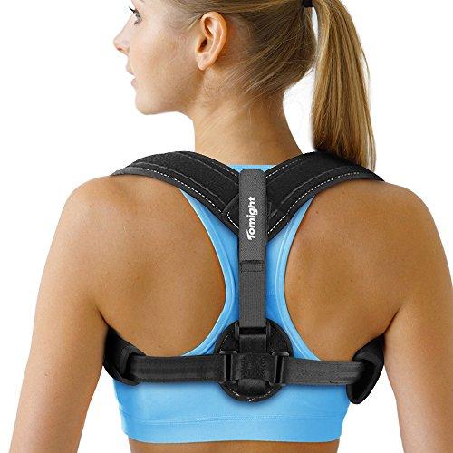 Tomight Back Posture Corrector Spinal Support, eficaz terapia física postura para mejorar la postura, aliviar el dolor de cuello, espalda y hombro para hombres y mujeres