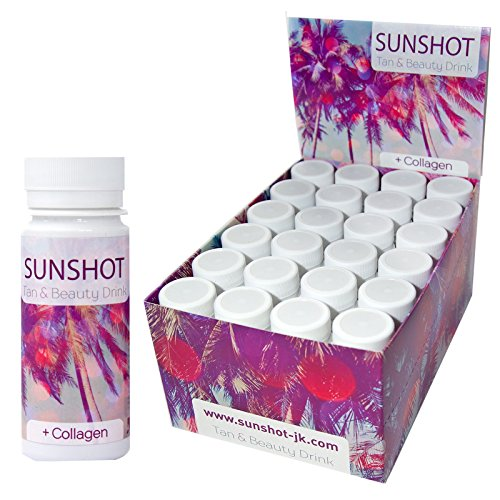 SUNSHOT Tan & Beauty Drink neue Rezeptur (Display 24 x 60 ml) - Drink Beauty