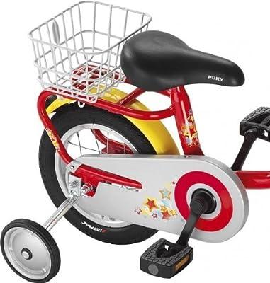 Puky GK2 Fahrrad Gepäckträger Korb für Z 2 silber