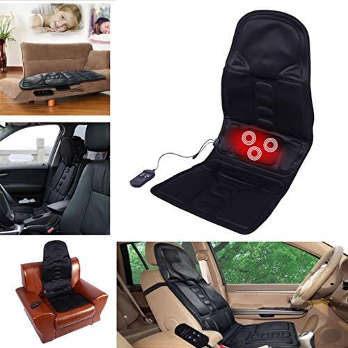 Alibb52 Elektrische Massage Stuhl Massage Elektrische Autositz Vibrator Körper Hüftpolster Hals Butt Zurück Hause Bein Klopfen Kneten