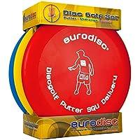Eurodisc Disc Golf Set Para Principiante SQU II Rango Medio Palo Driver PDGA Aprobado